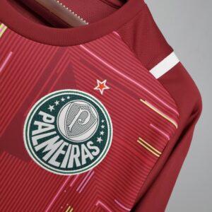 Camisa Palmeiras Goleiro Vermelha