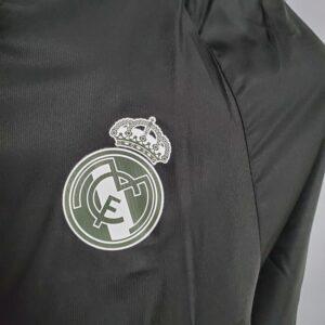 Corta Vento Real Madrid Preto