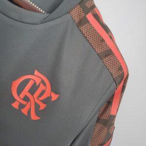 Camisa Flamengo treino Cinza 21-22