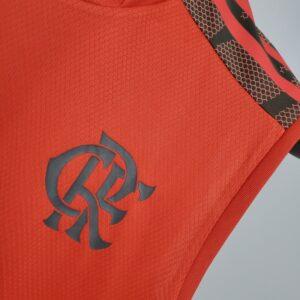 Camisa Flamengo treino Vermelha 21-22