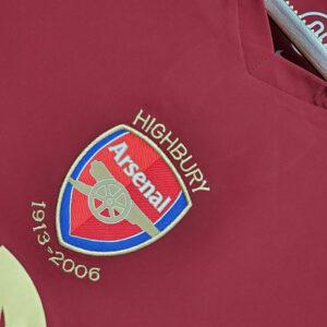 Camisa Arsenal Retrô 2006