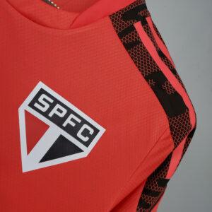 Camisa São Paulo Treino Vermelha 21-22