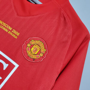Camisa Manchester United Retrô 2008