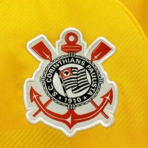 Corinthians Goleiro Amarela 21-22