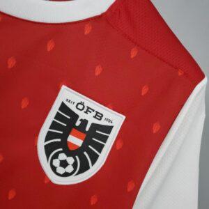 Camisa Áustria Titular 21-22