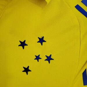 Camisa Cruzeiro Polo Amarela 21-22