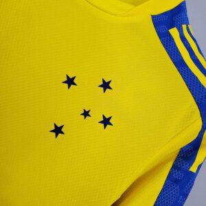 Camisa Cruzeiro Treino Amarela 21-22