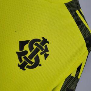 Camisa Internacional Treino Amarela 21-22